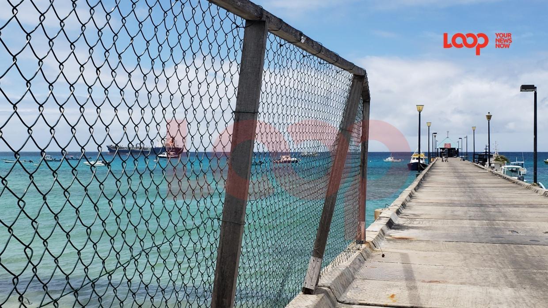 Oistins jetty (FILE)