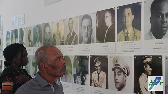 Exposition de photos de quelques victimes du système répressif des Duvalier./ @AlterPresse