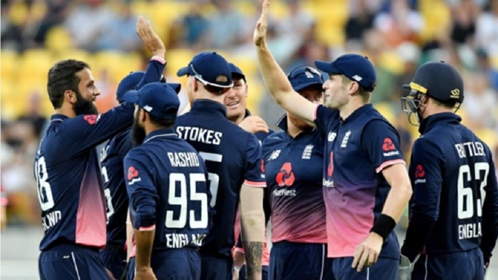 England's ODI team.