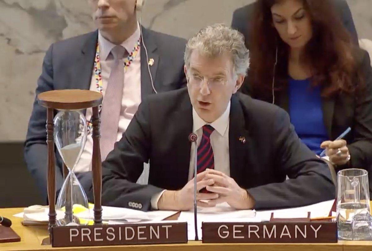 Christophe Heusgen, Représentant permanentd'Allemagne auprès de l'ONU
