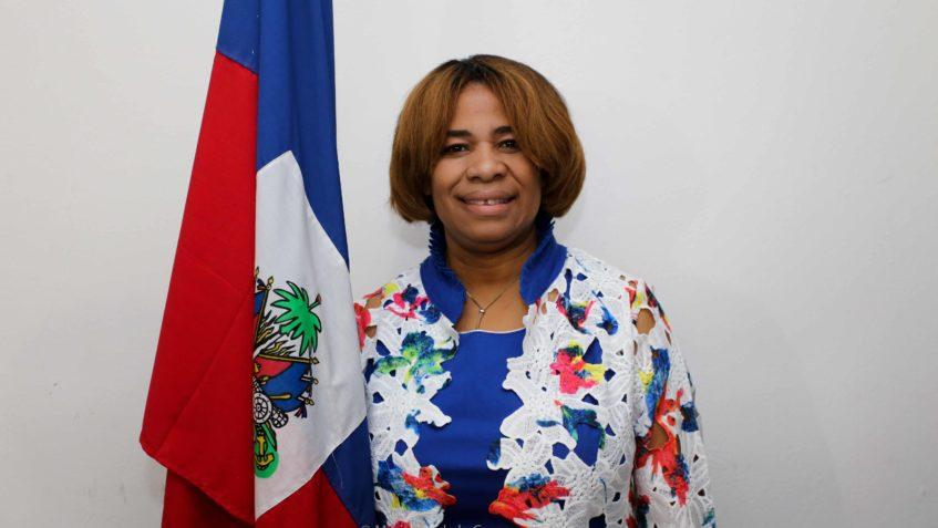 Maguy Durcé, directrice générale de l'INFP. Crédit photo : Ministère de la Communication.