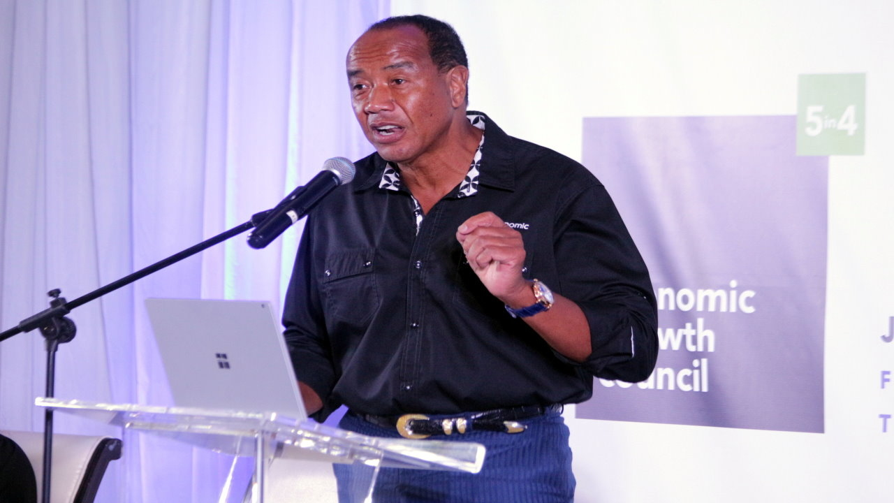 Chairman of the Economic Growth Council (EGC) Michael Lee-Chin.