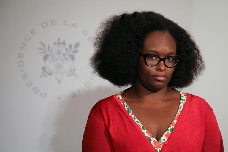 La porte-parole du gouvernement Sibeth NDiaye le 22 mai 2019 à Paris