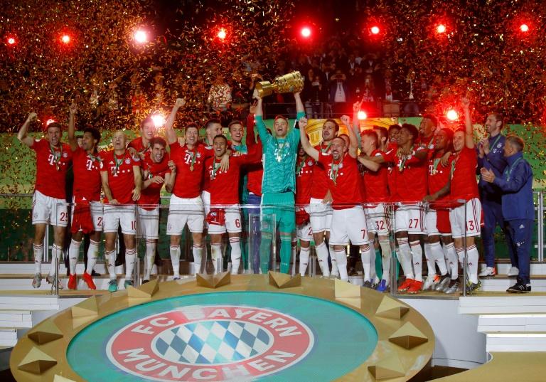 Le Bayern Munich remporte la Coupe d'Allemagne le 25 mai 2019