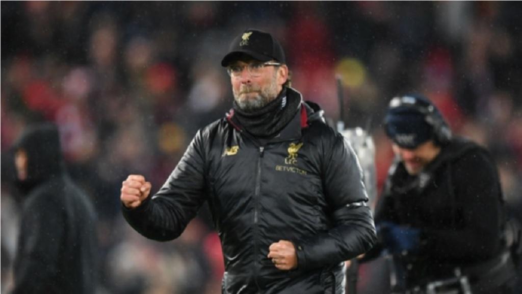 Liverpool boss Juergen Klopp.