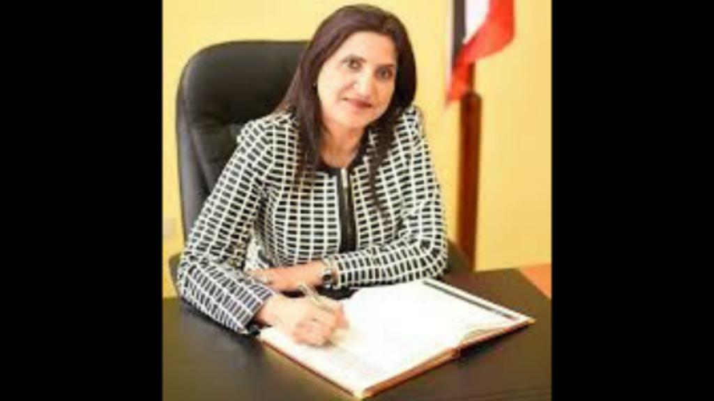 Oropouche West MP Vidia Gayadeen-Gopeesingh