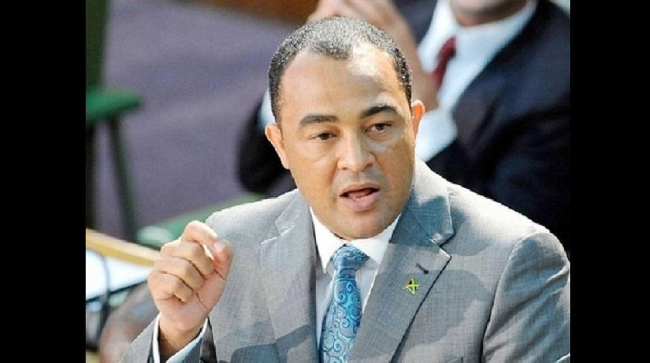 Dr Christopher Tufton in Parliament (file photo)