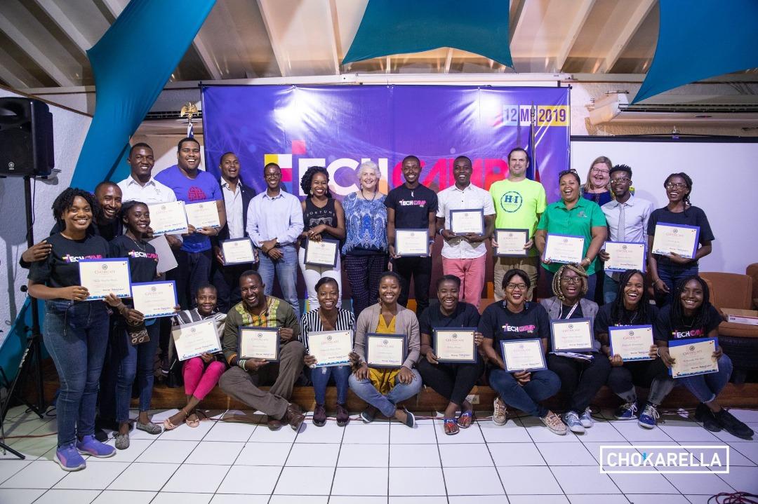 Clôture de Tech Camp Solèy: des organisateurs satisfaits, des participants outillés/ Photo: Chokarella