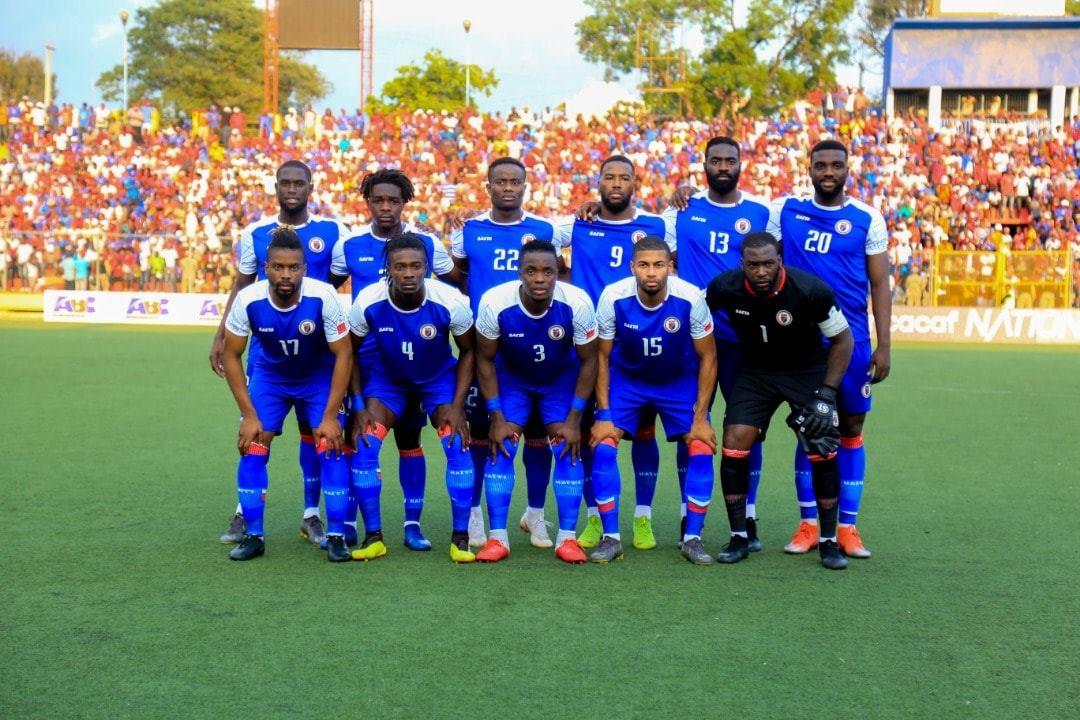 La sélection haïtienne de Football. Photo : FHF