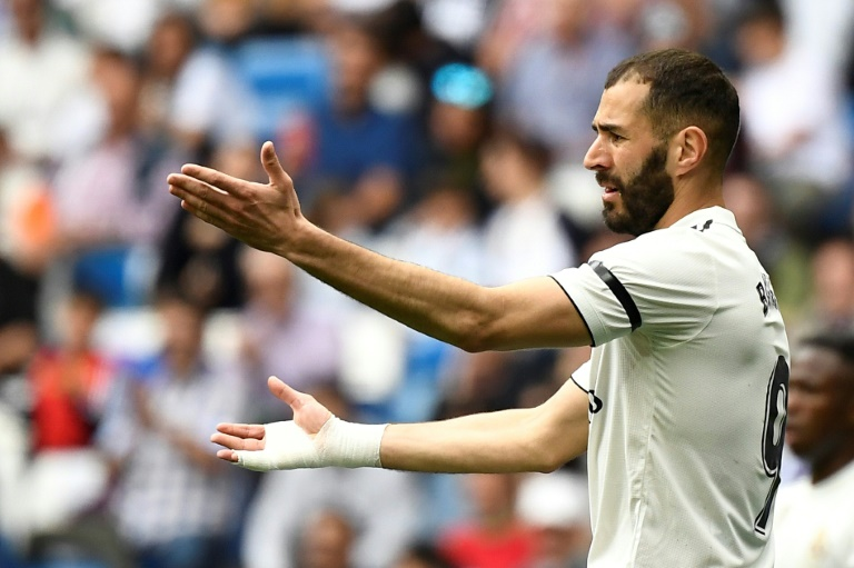 L'attaquant du Real Madrid, Karim Benzema