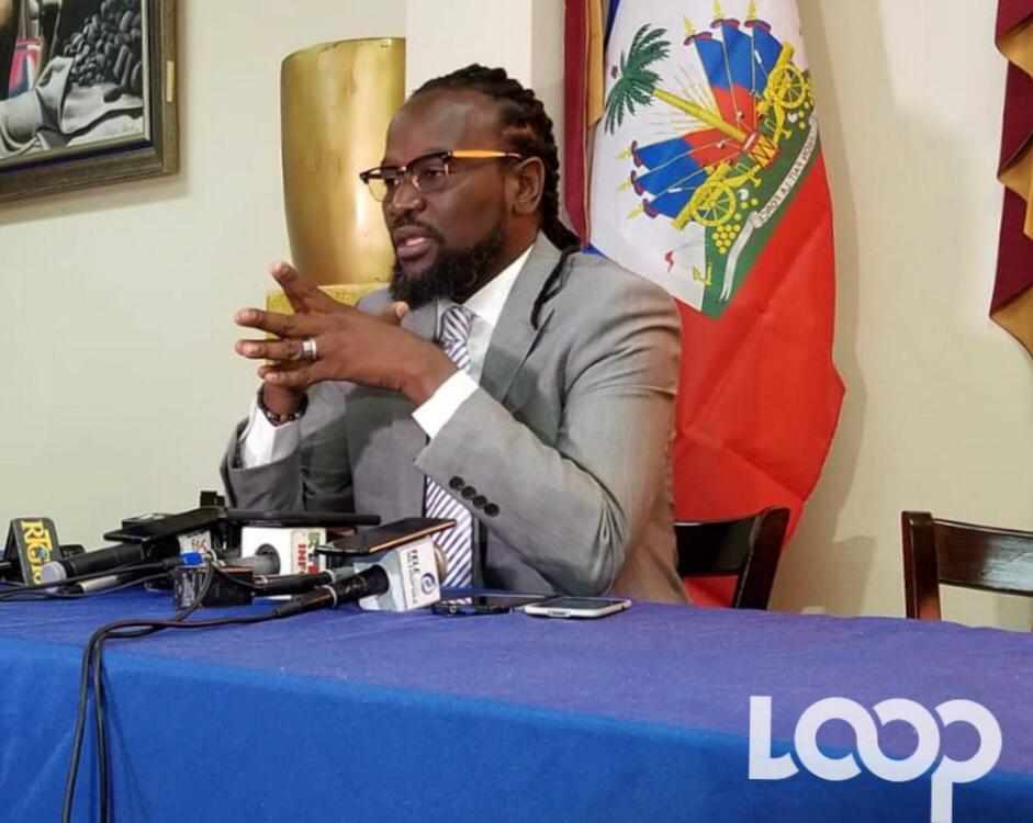 Antonio Chéramy, sénateur de la République / Photo : Loop Haiti