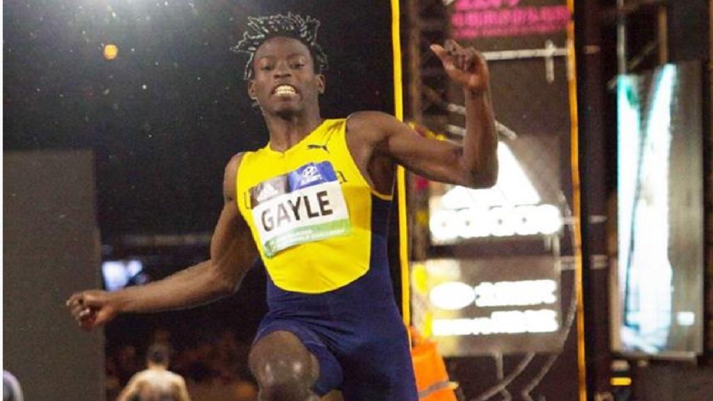 Fast-rising Jamaican jumper Tajay Gayle.