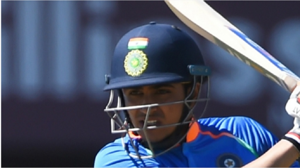Shubman Gill in action.