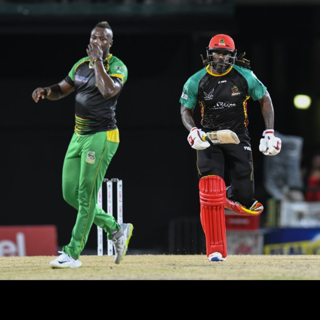 Chris Gayle hit 41 in the Patriots victory over this former team, the Jamaica Tallawahs