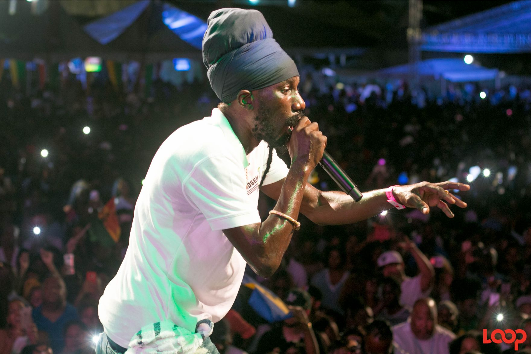 Sizzla is among the acts lined up for the Portland Sound Splash.