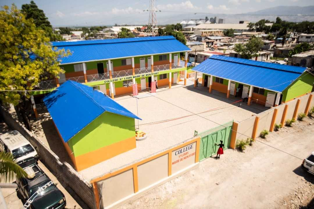 Pour ses 13 ans en Haïti, la Fondation Digicel inaugure sa 178e école / Photo : Digicel