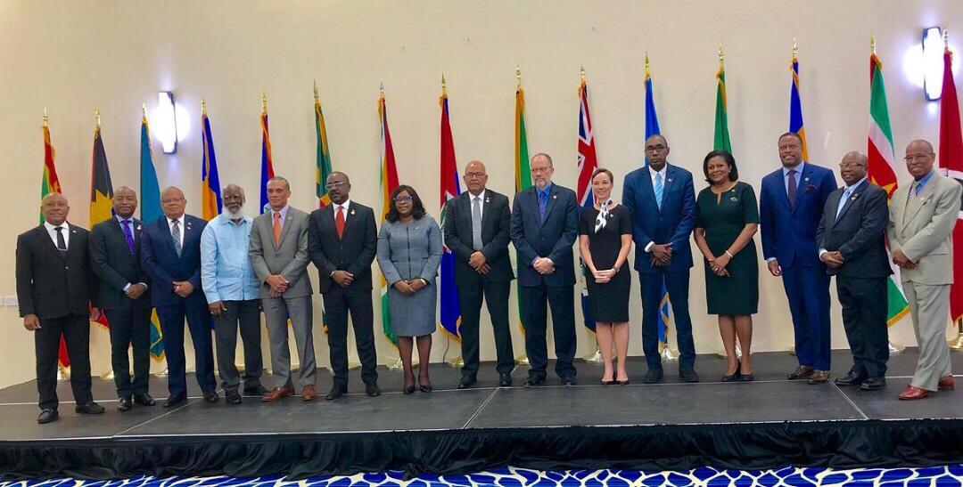 Les représentants des pays participant à la 22e réunion du COFCOR, les 13 et 14 mai derniers à Saint-John's, Commonwealth de la Grenade./Photo: Twitter COFCOR