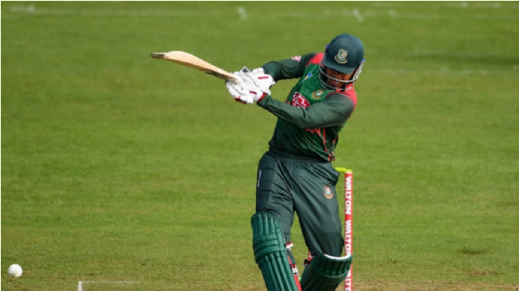 Soumya Sarkar's 66 was crucial for Bangladesh.