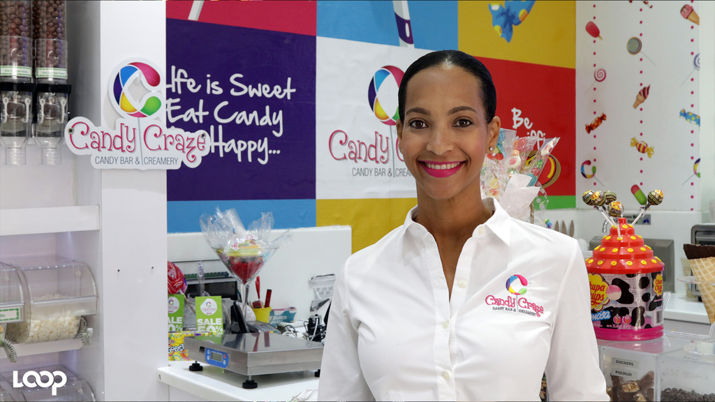 Melanie Levy, owner of Candy Craze and Creamery.