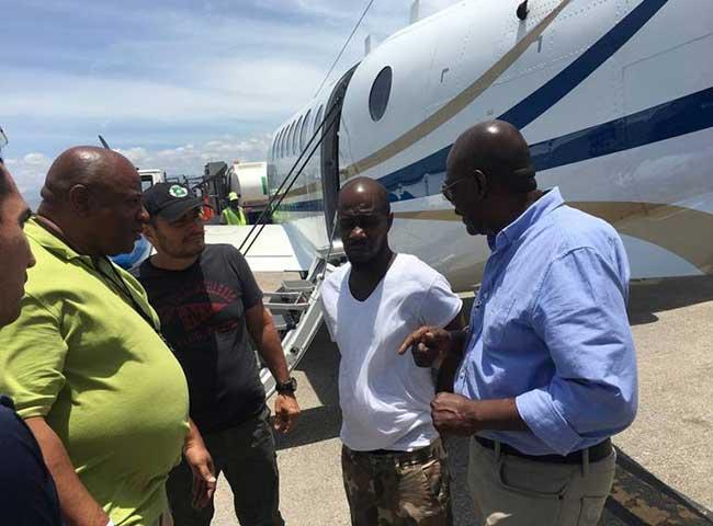 Gregory Georges, accusé de complots visant à distribuer plusieurs kilos de cocaïne et d'héroïnes./Photo-source: Rtvc