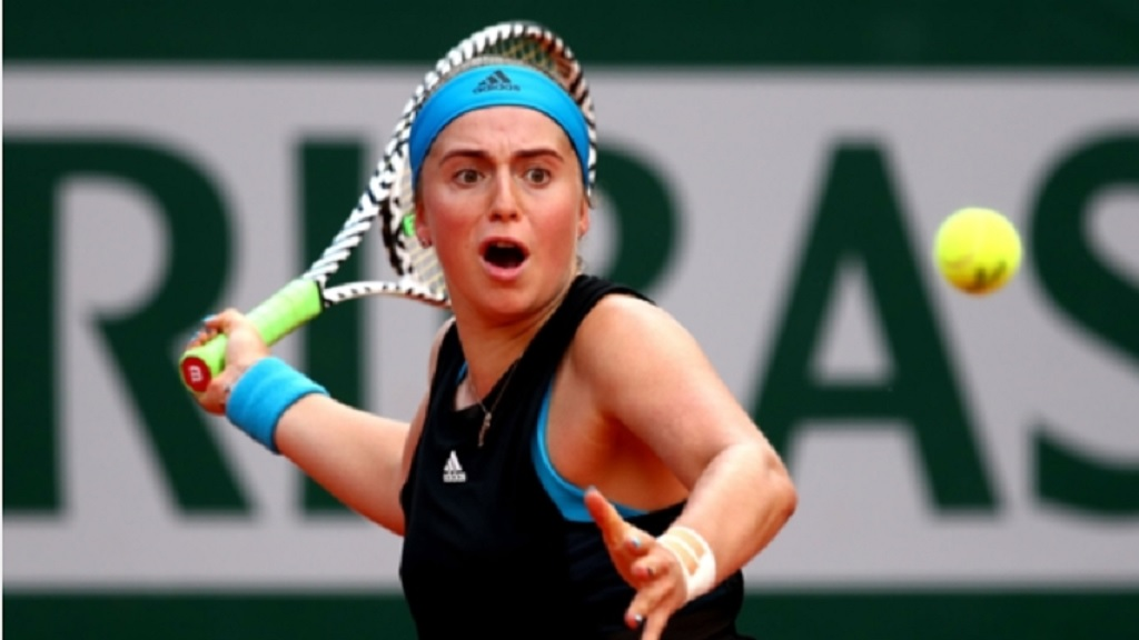 Jelena Ostapenko, 2017 French Open champion.