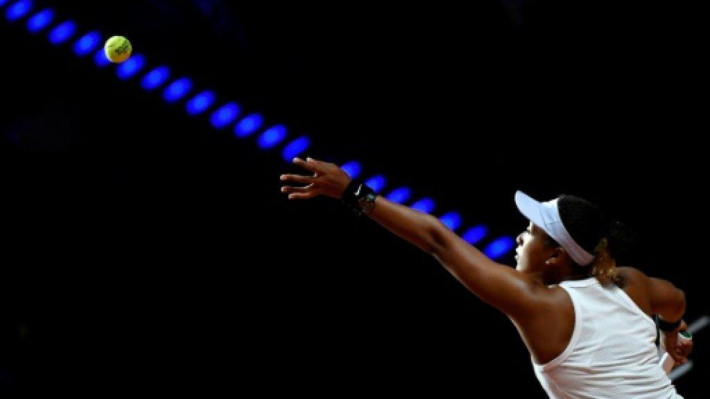 La Japonaise Naomi Osaka lors du tournoi de Stuttgart, le 25 avril 2019 AFP/Archives