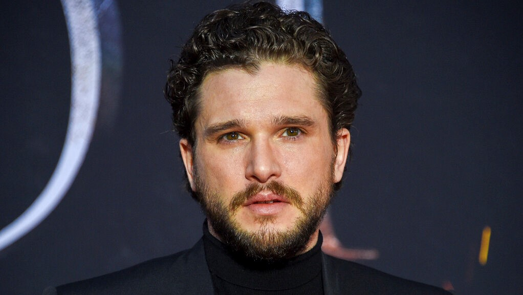 "This April 3, 2019 file photo shows Kit Harington at HBO's ""Game of Thrones"" final season premiere in New York. (Photo by Evan Agostini/Invision/AP, File)"