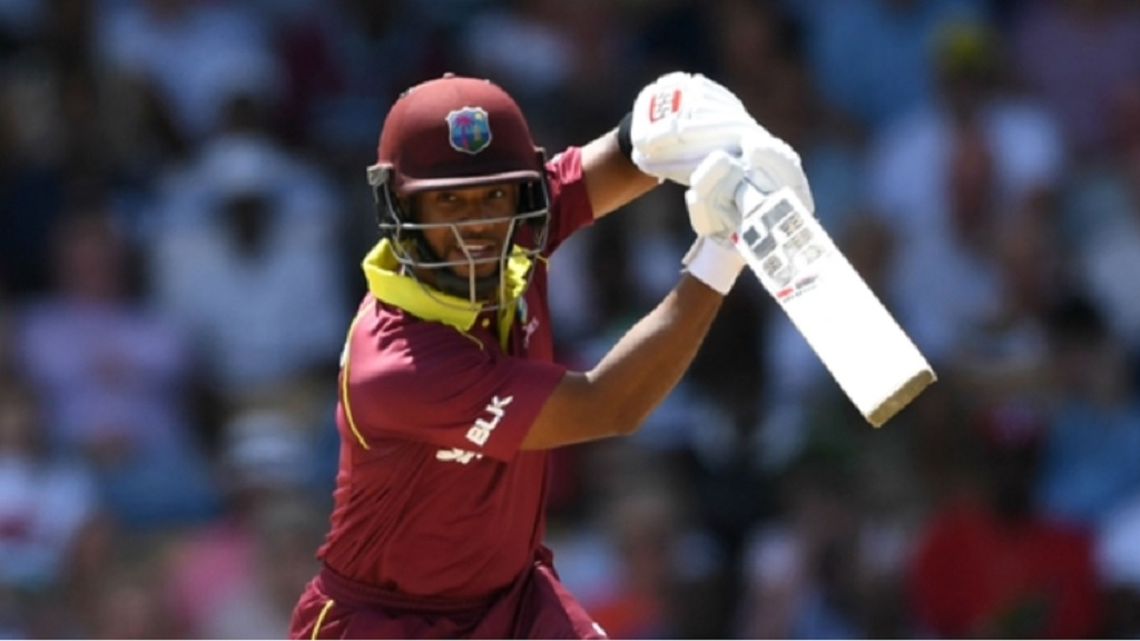 West Indies' Shai Hope.