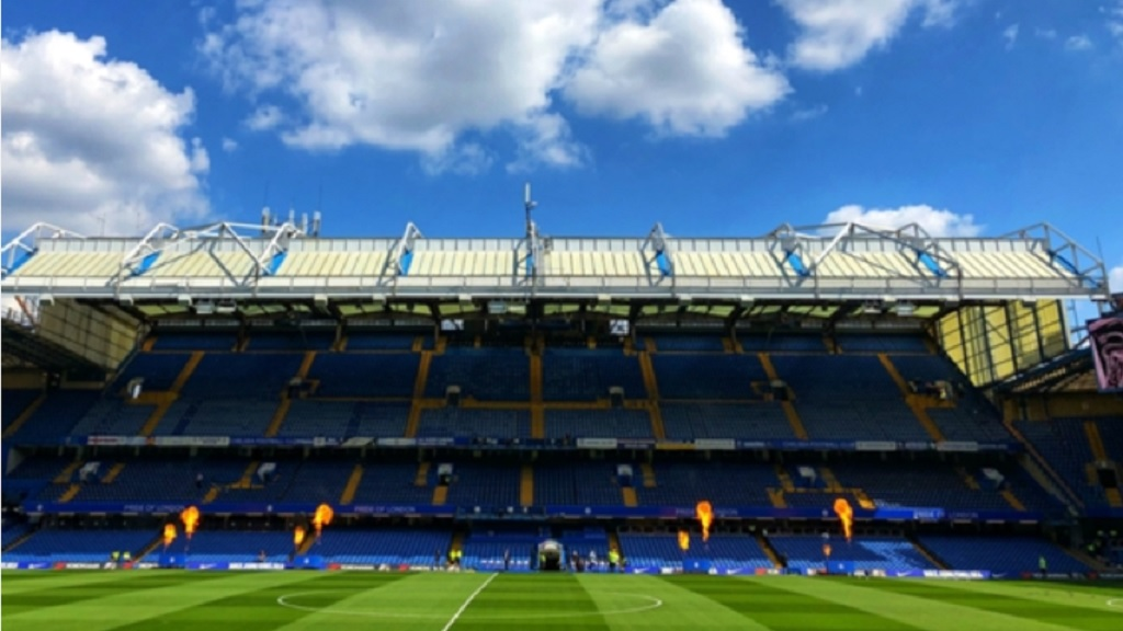 General view of Chelsea's Stamford Bridge.