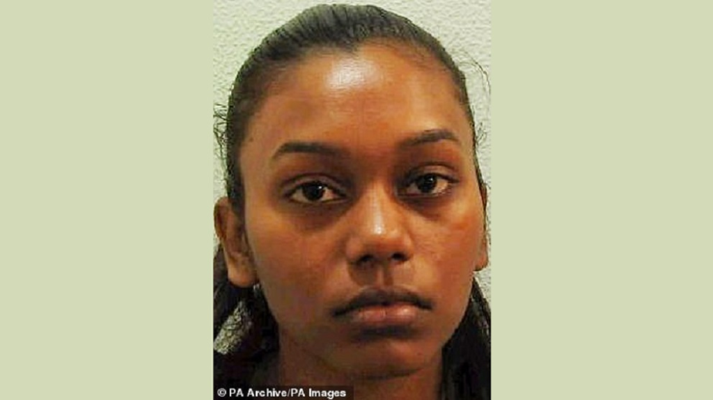 Photo: 25-year-old Samantha Joseph, who was 15 at the time of this photo, is set to return to Trinidad and Tobago after being convicted of murder in the UK.