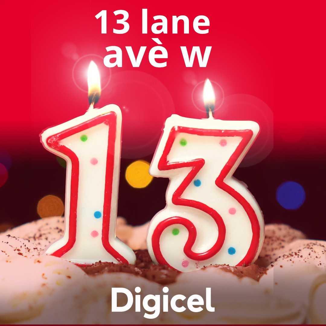 Digicel commémore ses 13 ans d'opérations en Haïti