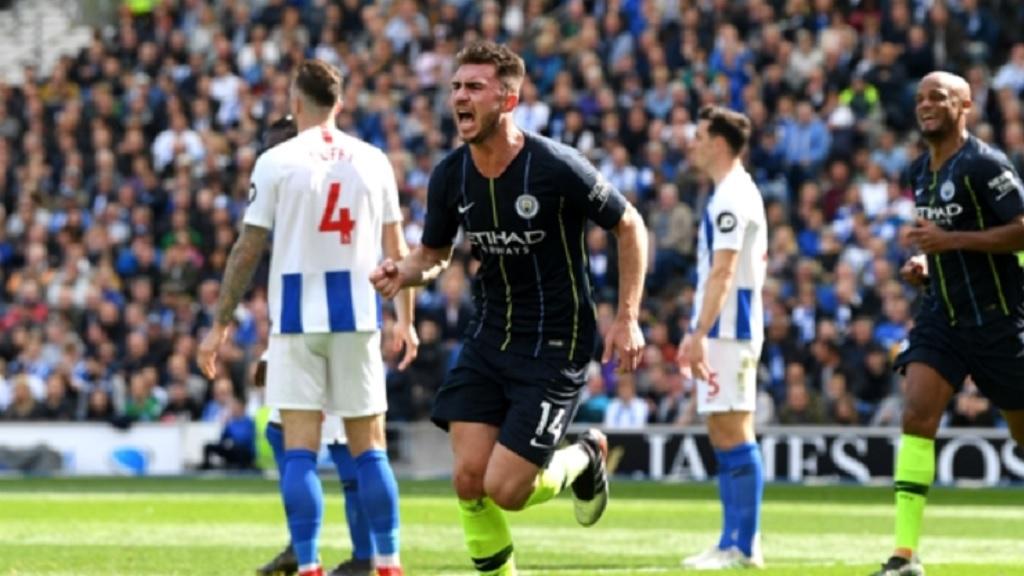 Manchester City centre-back Aymeric Laporte.