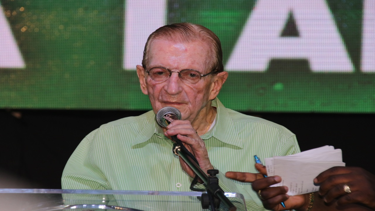 Former Jamaican Prime Minister, Edward Seaga.