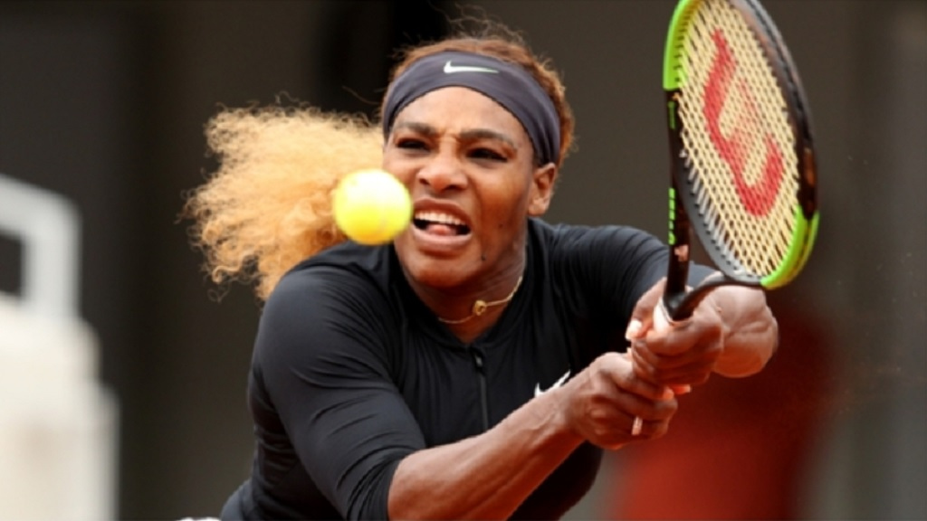 Serena Williams at Roland Garros.