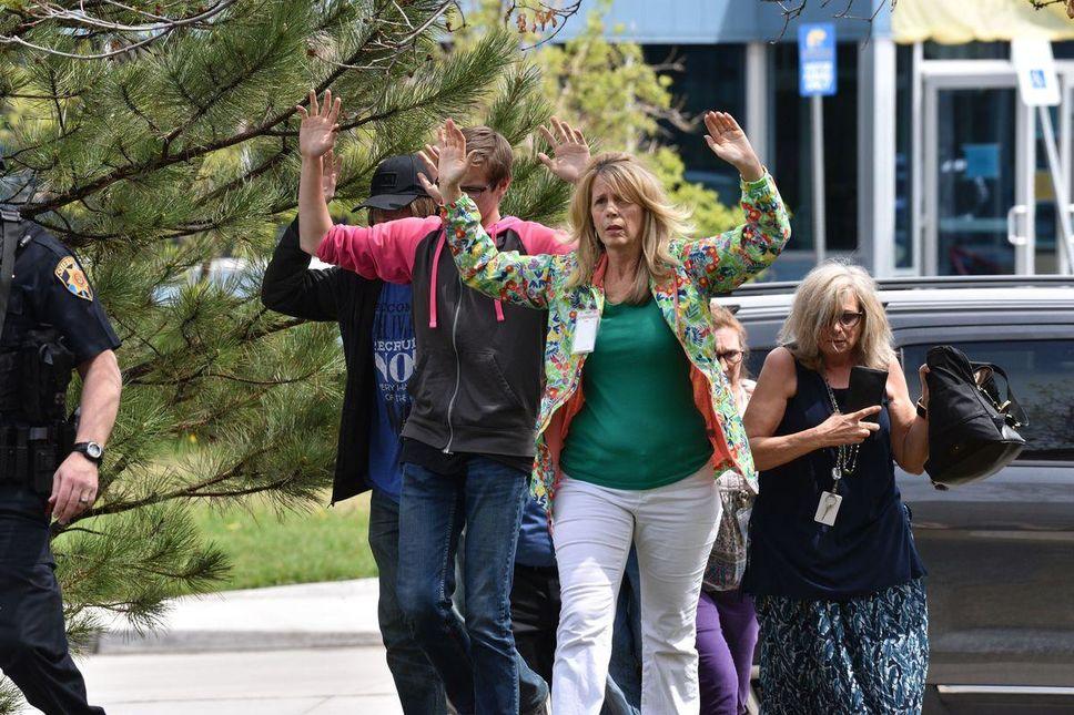 Fusillade dans une ecole à Denver. Photo : AFP