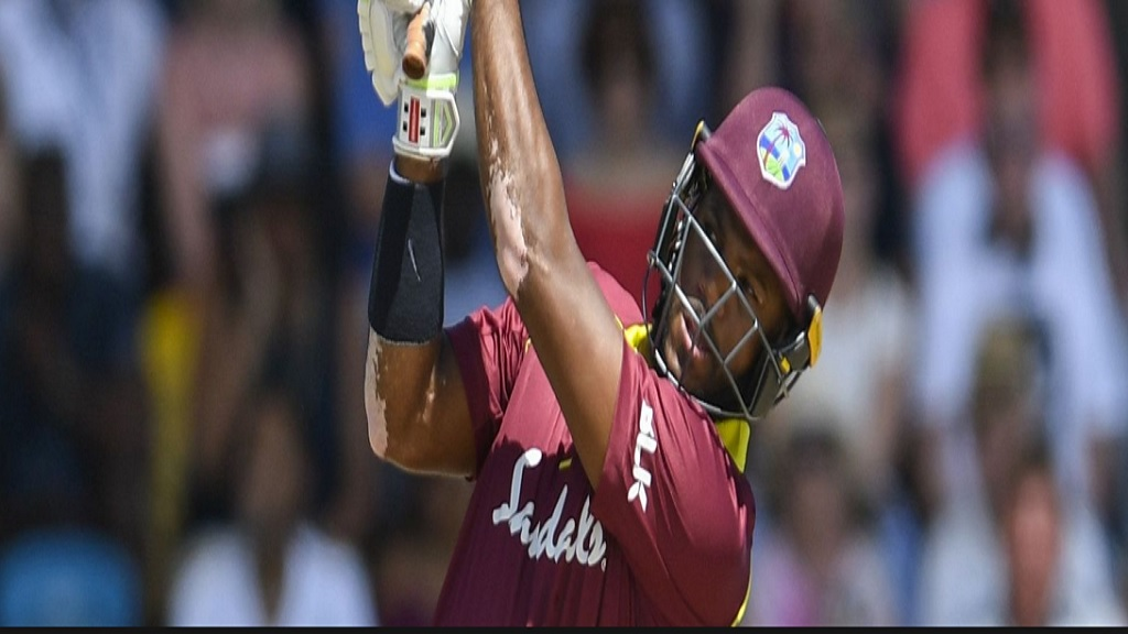 New West Indies recruit Jamaican John Campbell.