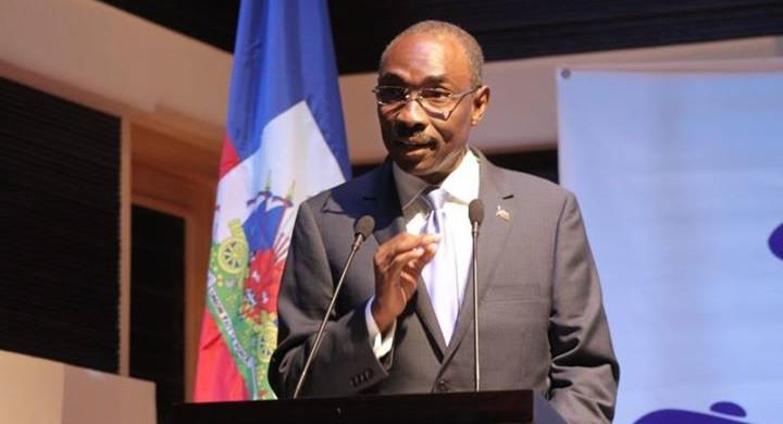 Evans Paul, homme politique et ex-Premier ministre d'Haïti