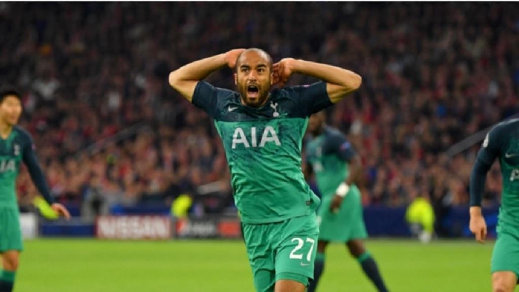 Tottenham forward Lucas Moura.