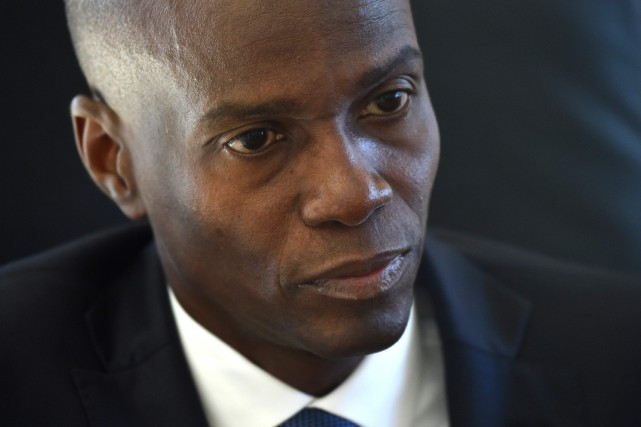 Le président haïtien Jovenel Moïse  PHOTO HECTOR RETAMAL, ARCHIVES AGENCE FRANCE-PRESSE
