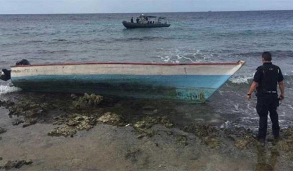 Photo: The wreck of the Ana Maria, via Twitter/Carlos Valero.