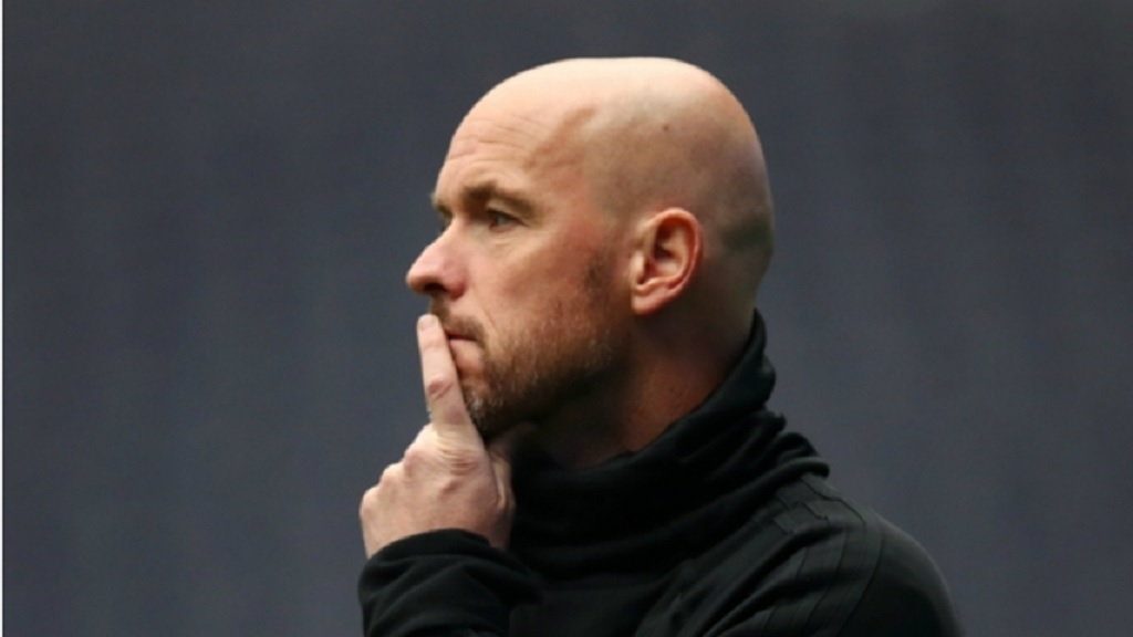 Ajax head coach Erik ten Hag.