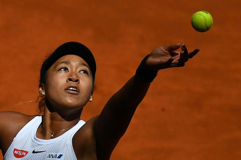 La championne de l'US Open, Naomi Osaka
