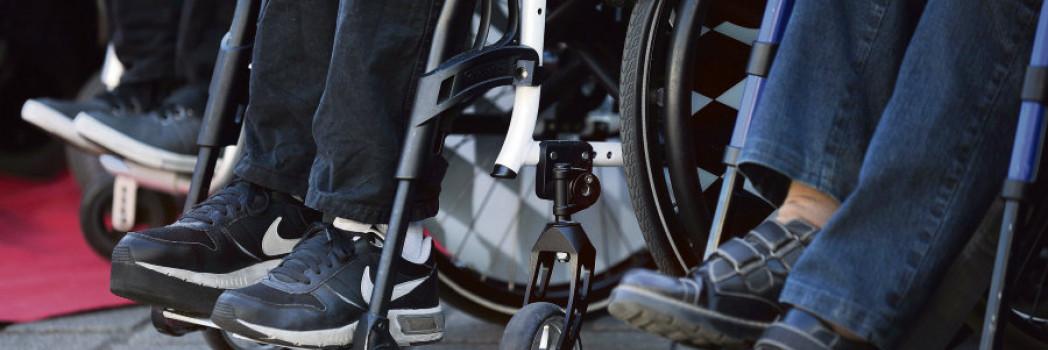 Des fauteuils pour personnes handicapées - Crédit : AFP