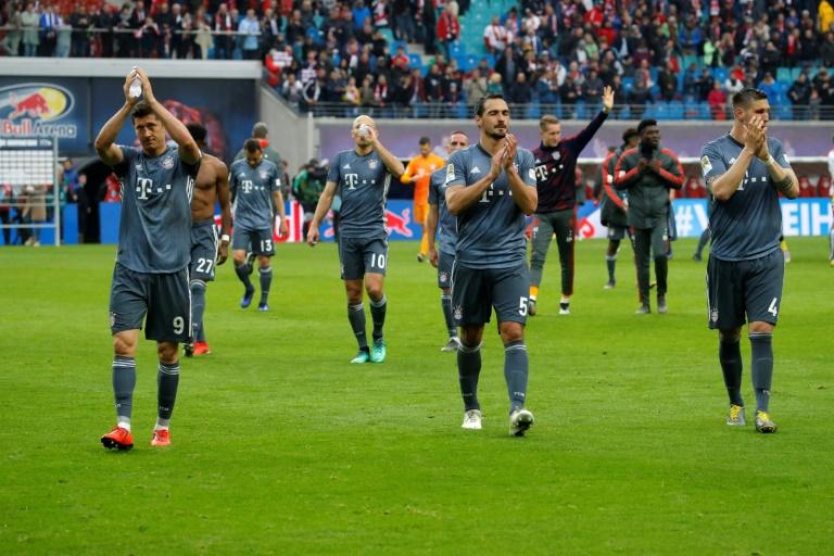 Le Bayern Munich reste sur un match nul sur le terrain du RB Leipzig, le 11 mai 2019