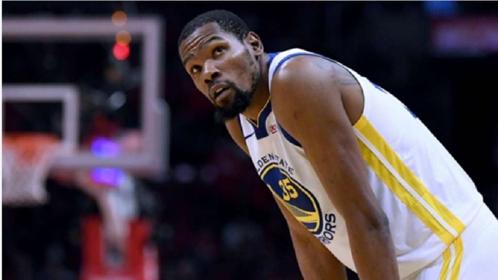 Golden State Warriors star Kevin Durant will miss Game 1 of the Western Conference finals.