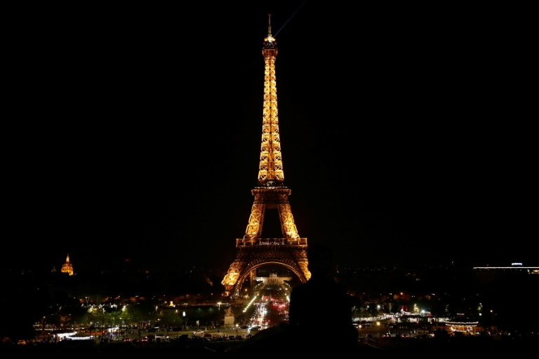 La tour Eiffel le 21 avril 2019