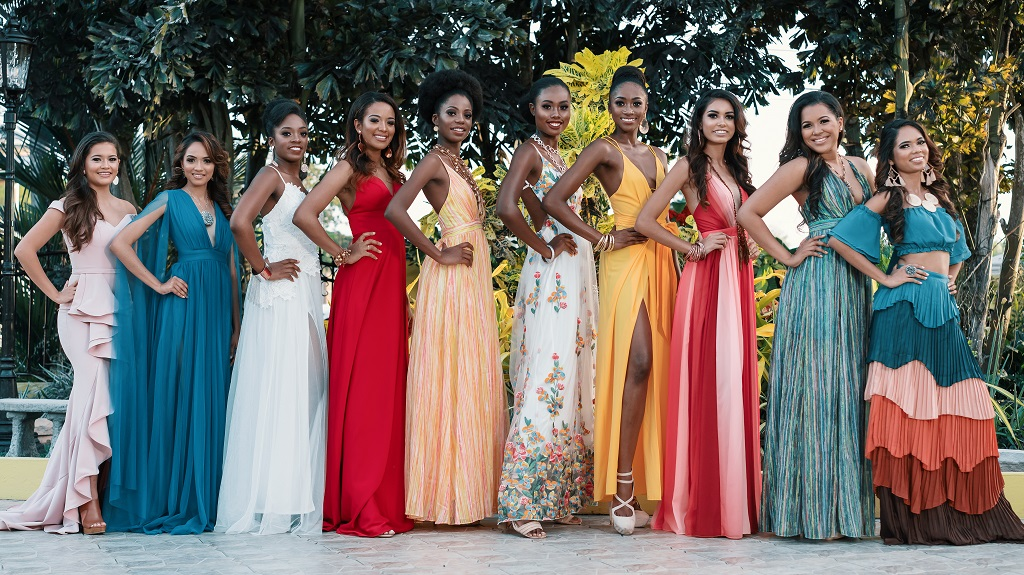 Photos courtesy the Miss World T&T Pageant.