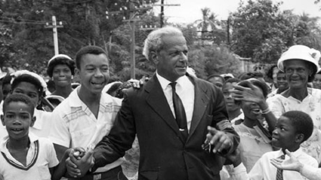 "Then Premier of Jamaica, Norman Manley abolished Empire Day in favour of ""National Labour Day"" in 1960. (PHOTOS: JIS)"