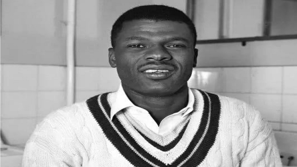 Former West Indies batsman Seymour Nurse.