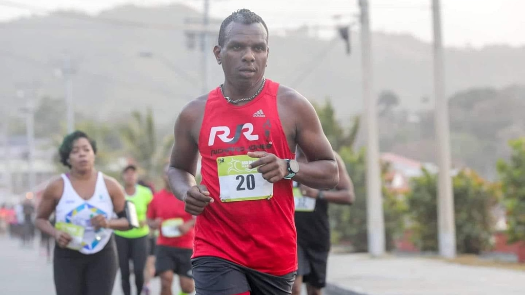 Andy Phillip collapsed while running in the Sea to Sea marathon in Tobago.